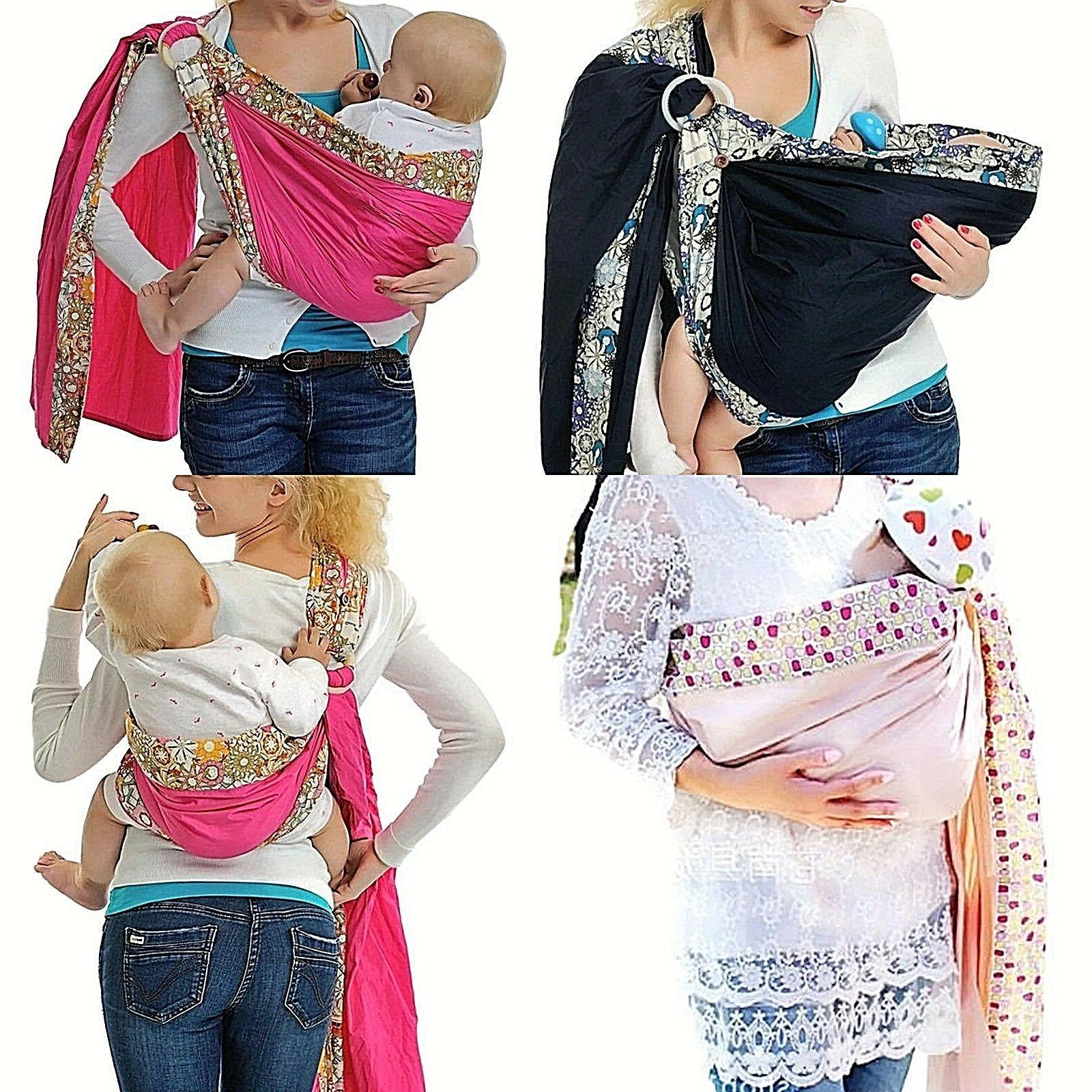 baby ring sling carrier infant toddler newborn