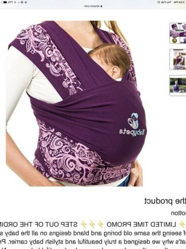 baby wrap carrier newborn sling for birth