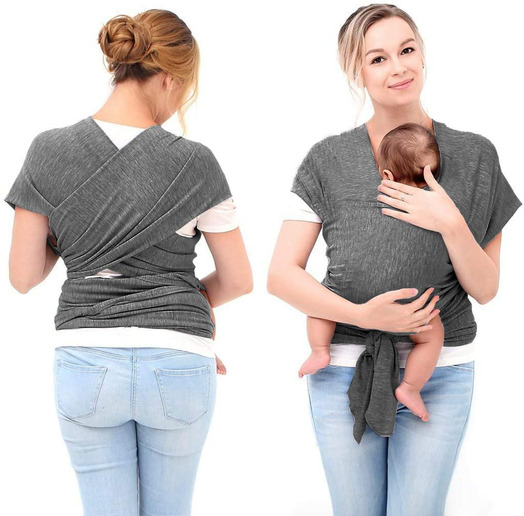 baby wrap cotton carrier sling safe nursing