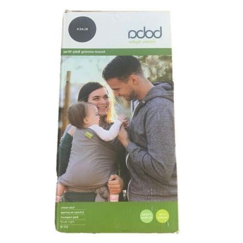 baby wrap newborn infant carrier black new