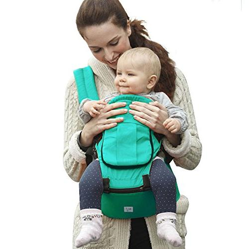 BabySteps Baby with Hip Seat All Seasons, & for Infant Perfect for Alone and Hiking