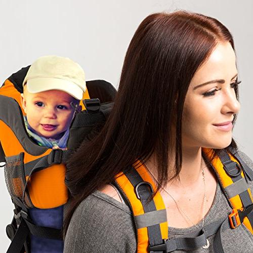 Luvdbaby Baby Backpack Carrier for Kids – Child