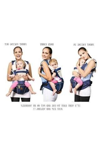 bebear Designer Baby Carrier 2 1 ,Dark Blue