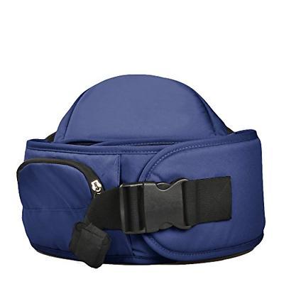 Bebamour Lightweight Baby Hip Seat Baby Waist Seat Dark blue