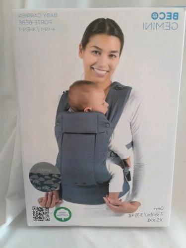 beco gemini baby carrier nimbus multi position