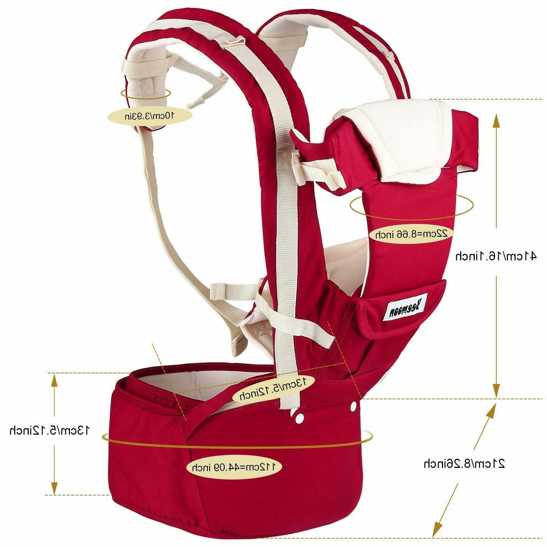 Beemoon Baby Carrier Ergonomic Hip Soft