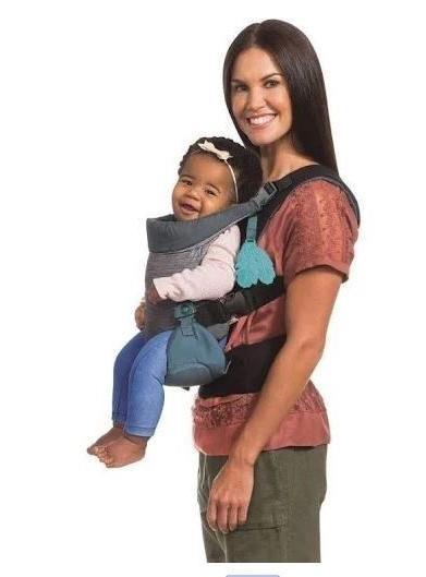 Brand new Baby Infant Carrier: Infantino Go Evolved Ergonomic Black/Gray