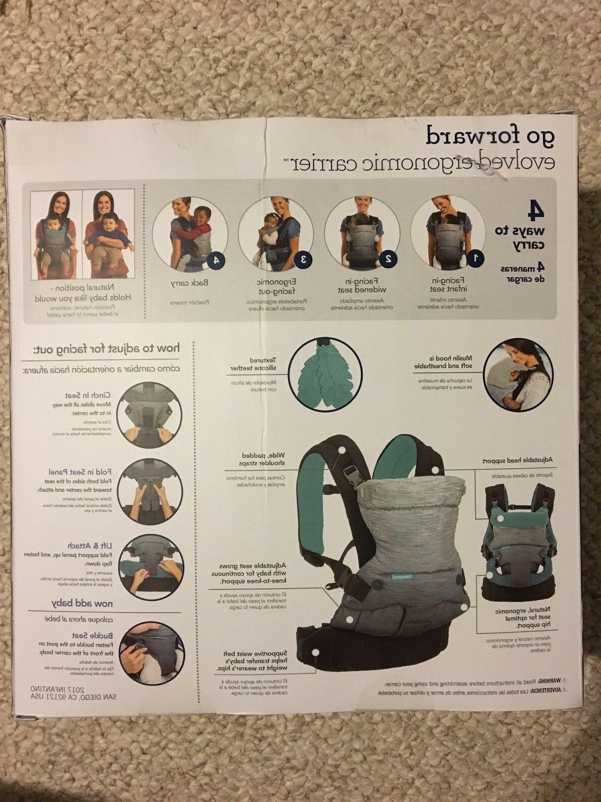 Brand Carrier: Infantino Go Forward Evolved Black/Gray
