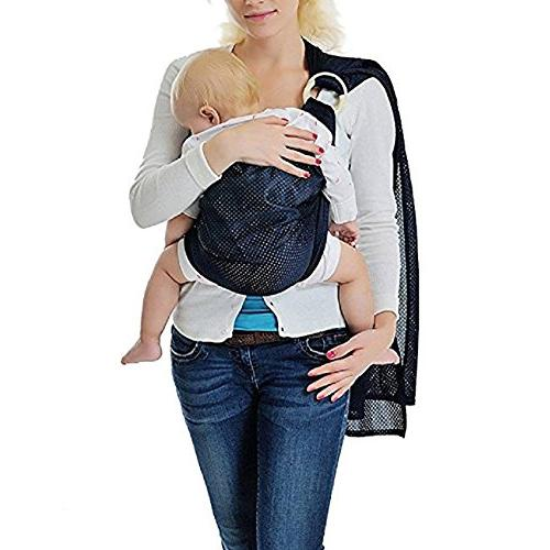 Cuby Breathable Baby Carrier Mesh For Summers/Beachhe Baby