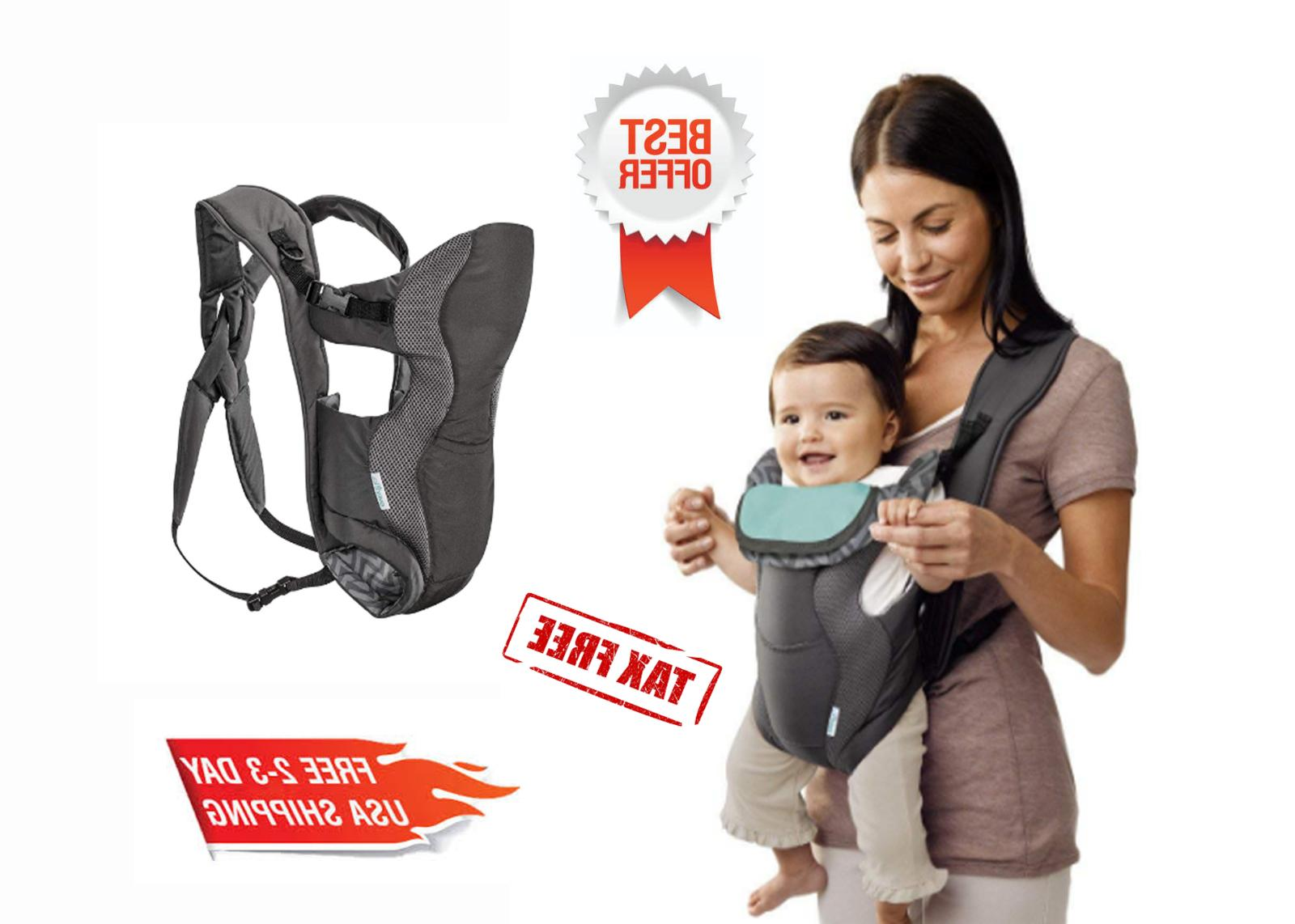 Evenflo Breathable Soft Carrier, Grey Chevron FREE Shipping