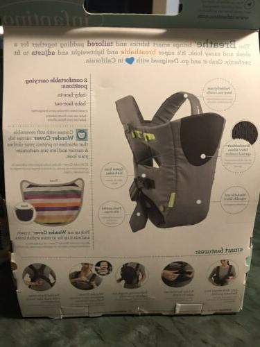 Infantino Vented Carrier Sporty Grey 8-25 NEW