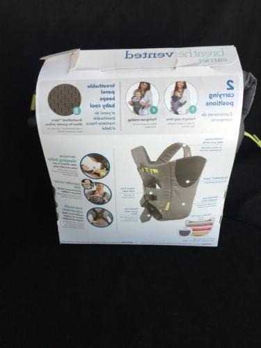 Infantino Breathe Grey, Baby carrier, NEW, Free shipping