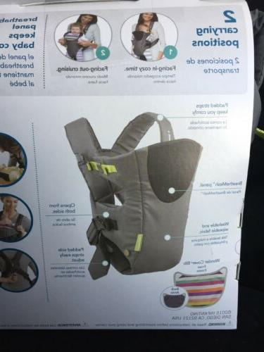 Infantino Carrier, Grey, carrier, Free shipping
