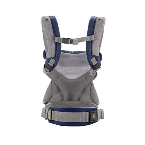 Ergobaby Carrier, All Carry Positions Baby with Cool French