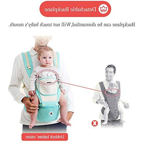 Baby Carrier Soft All Carry with Seat 360 Ergonomic Child Seats