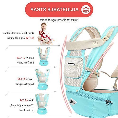 Baby Soft All Carry with Seat 360 Award-Winning Ergonomic Seats
