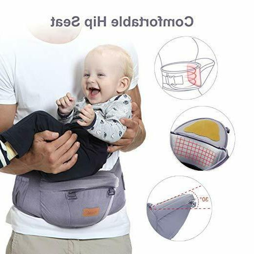 Carrier with Hip 6-in-1 Carrier Ergonomic Baby