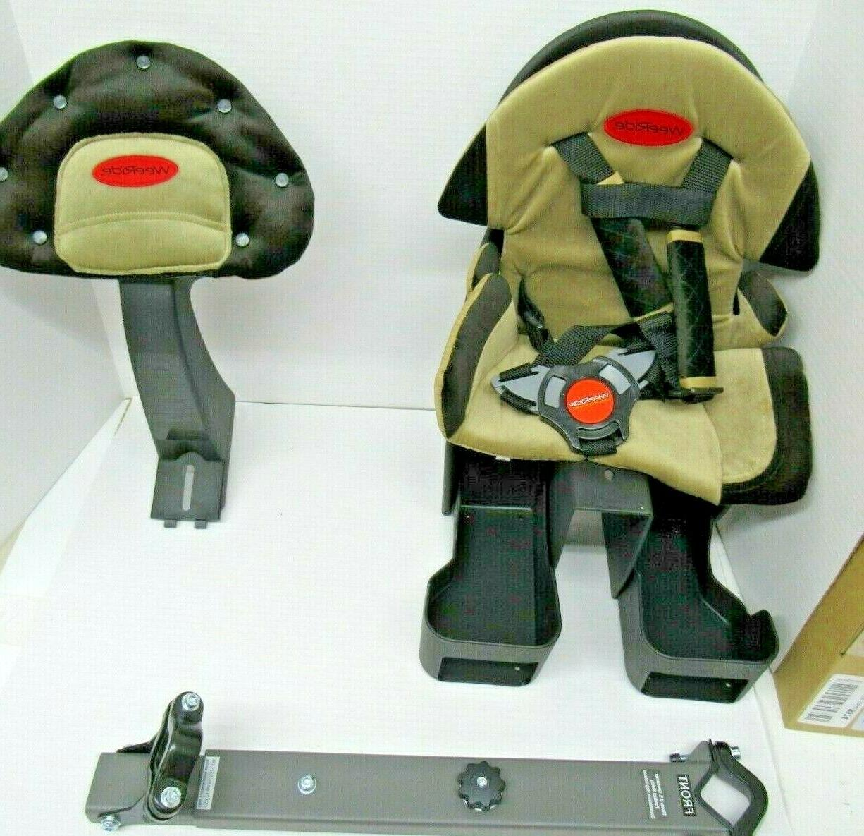 child bike seat front mount bicycle safety
