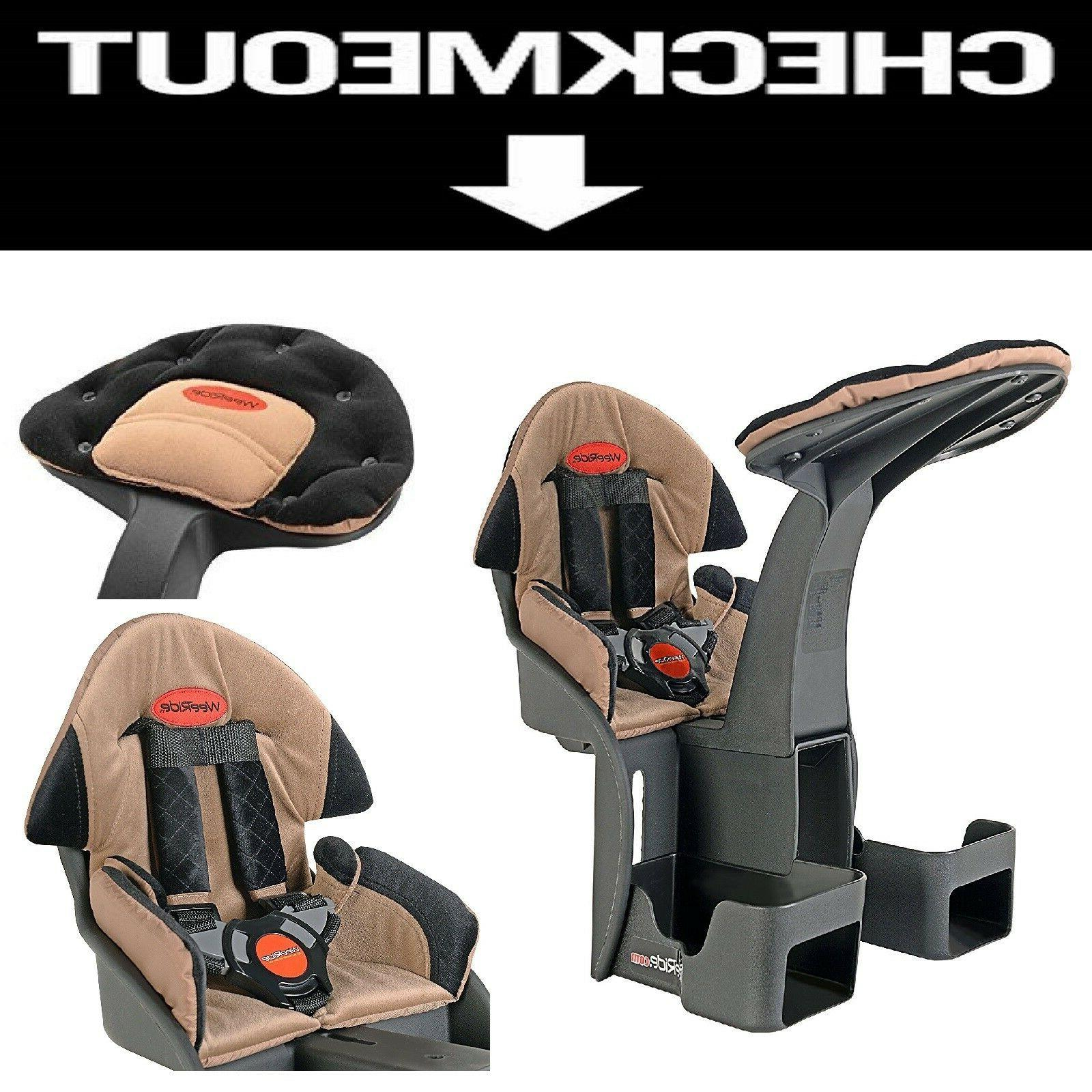 child bike seat front position safety seat