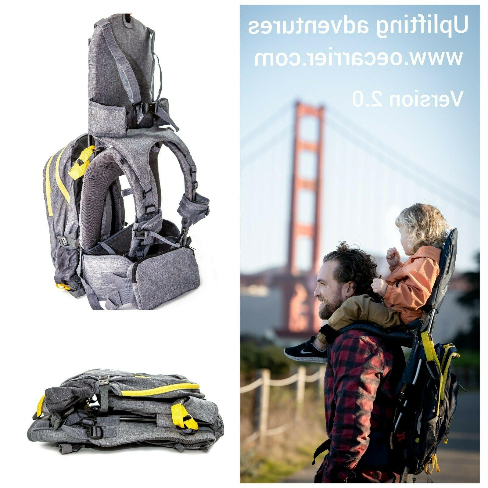child shoulder carrier 2 by our expedition