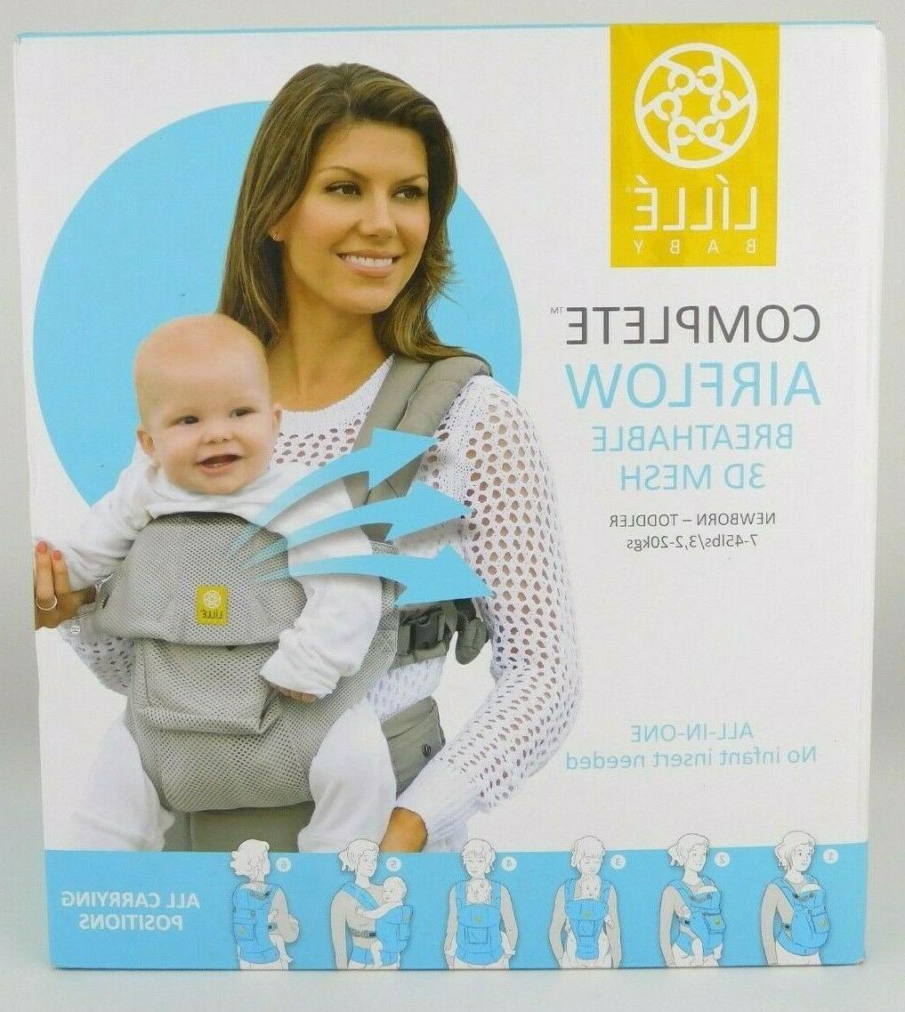 LILLEBABY Complete Airflow 3D Mesh Newborn-Toddler Baby Carrier