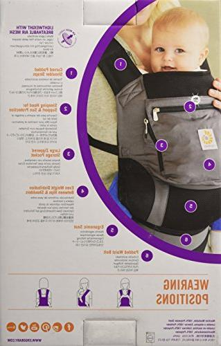 Ergobaby 3 Carrier Charcoal Grey