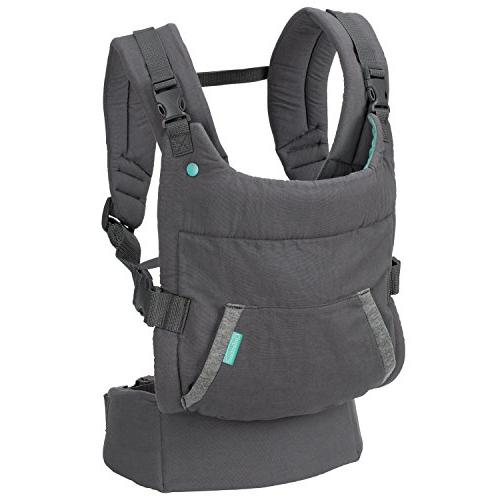 Infantino Up Hoodie Carrier, Grey