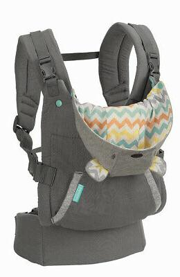 Infantino Hoodie Carrier Canopy 2 Carrying Positions