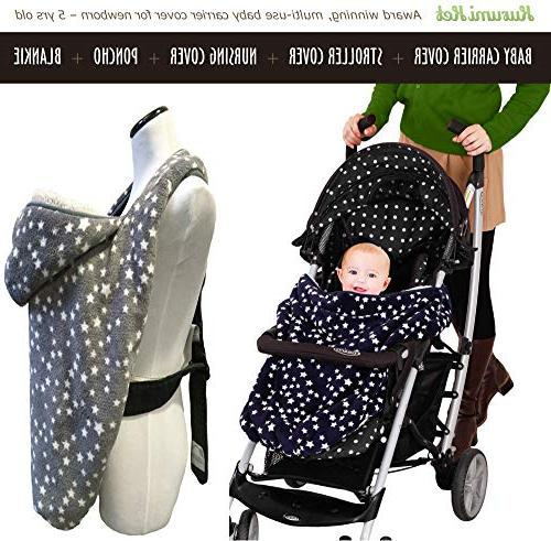 double fleece adjustable 1 carrier