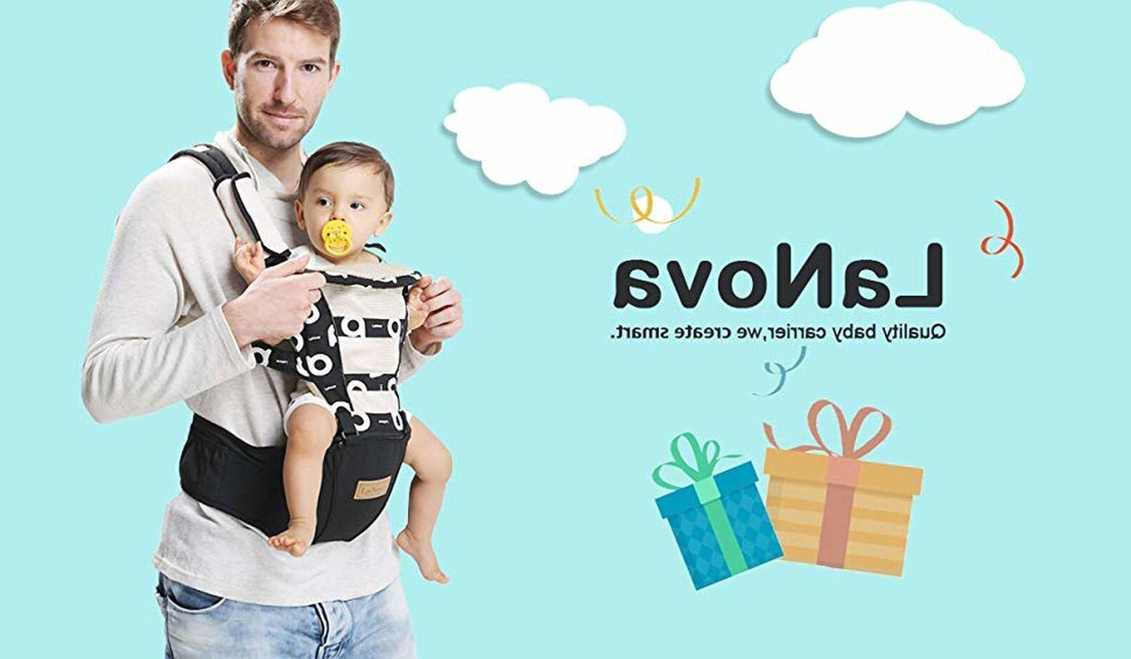 ergonomic baby carrier backpack with hip seat
