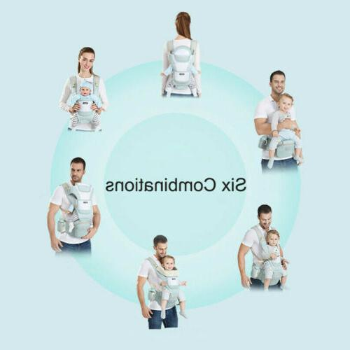 Baby Carrier, 6-in-1 Baby Hip for Baby
