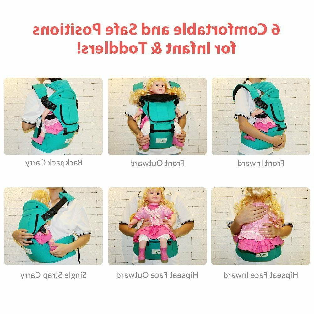 BabySteps Ergonomic Baby with Hip Seat All Seasons & S