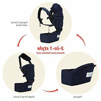 BabySteps Ergonomic Carrier with Seat All Seasons.