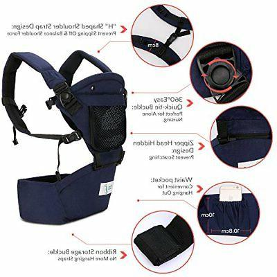BabySteps Ergonomic Baby Carrier with for All