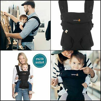 Ergobaby Four Position 360 Carrier - Pure Black