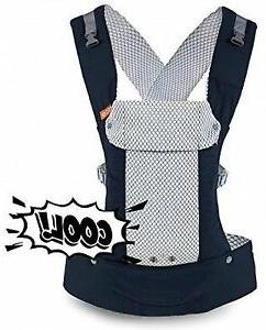 Beco Gemini Cool Adjustable Baby Carrier with Breathable 3D