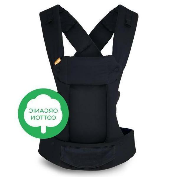 gemini organic metro black baby carrier
