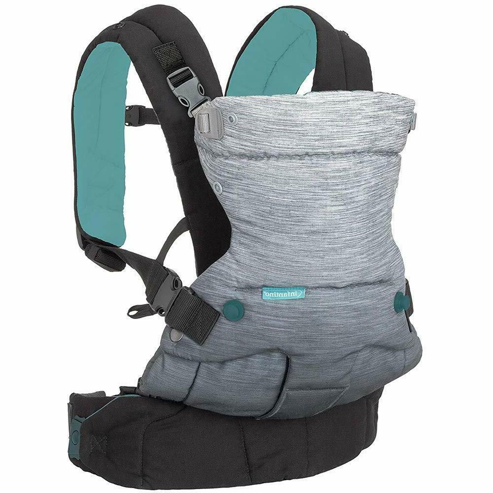 Infantino Go Forward 4-in-1 Evolved Ergonomic Baby Carrier w