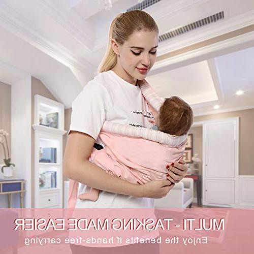 Baby Natural Cotton Baby Baby Holder for Easy Wearing Carrying of Infant and Ideal Registry,
