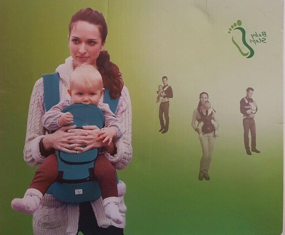hip seat baby carrier multifunctional green new