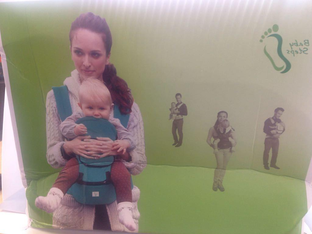 hip seat baby carrier multifunctional green
