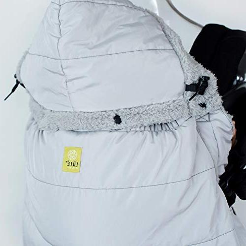 LÍLLÉbaby Hygge Warming Cover with Soft Fleece for Babywearing,