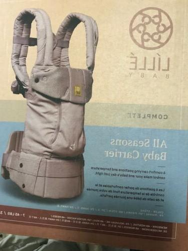 lille baby child carrier six position ergonomic