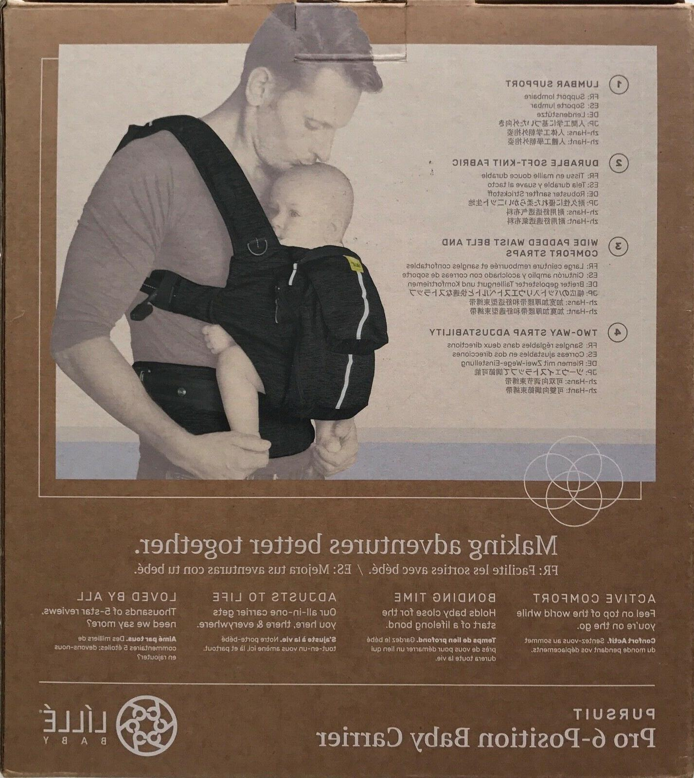 LILLE BABY PURSUIT 6-POSITION CARRIER - 45 ONYX
