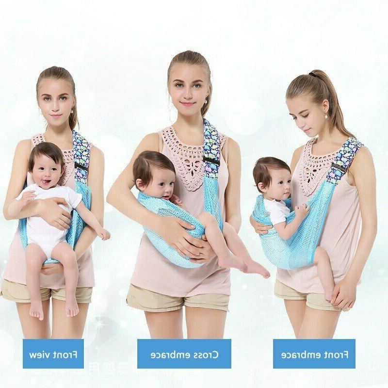Mesh Baby Wrap Newborn Sling Outdoor Convenience Holder Carr