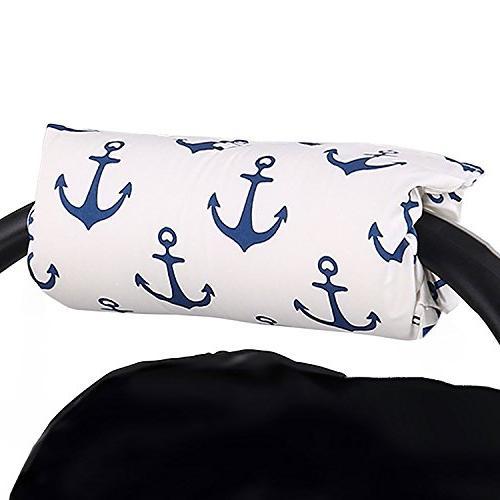 navy blue anchor car seat