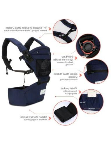 New! Baby Steps Carrier In 1 Comfortable Adjustable