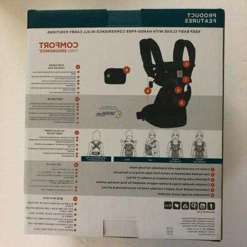 NEW Ergobaby Cool Mesh ALL-IN-ONE Baby 7-45LBS