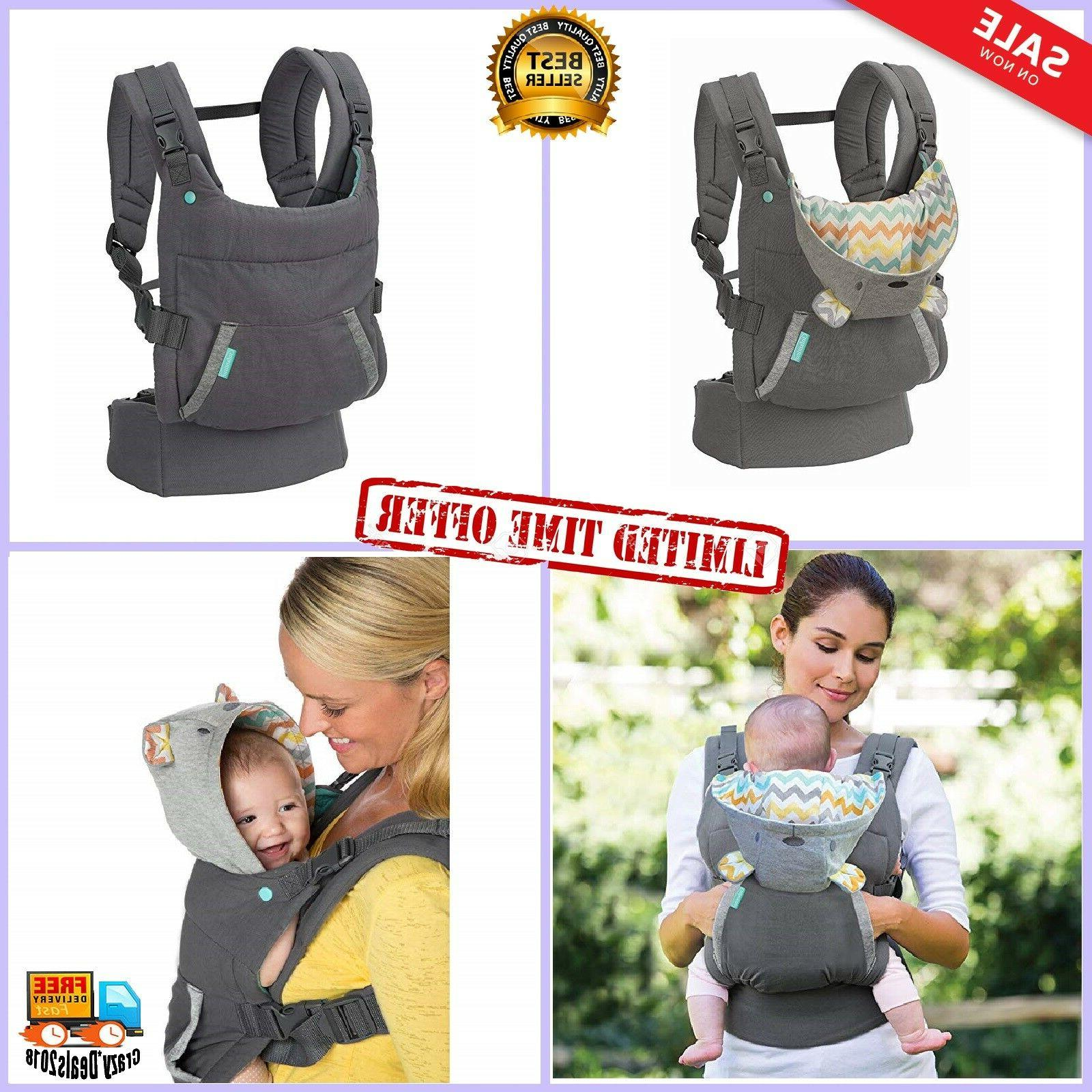 Infantino Newborn Baby Carrier Back Ergonomic seat adjustabl