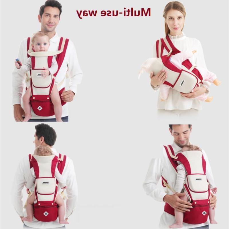 Newborn Breathable Ergonomic Support Wrap Backpack